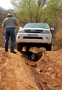 4 x 4 Training is about building driver confidence